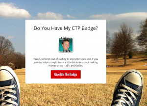 Andrew Stark CTP Badge